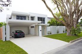 house with white tiles u2013 modern house
