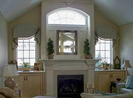 image result for half circle window over fireplace scott u0027s