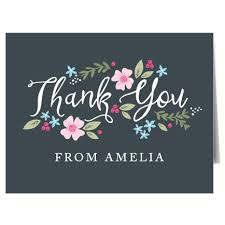 thank you cards baby shower thank you cards match your color style free