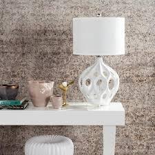 Home Decor Stores Regina by Safavieh Regina 29 In White Ceramic Table Lamp Lit4040c The