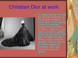 christian dior christian dior was a french fashion designer he is