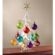 glass blown tree ornaments rainforest islands ferry