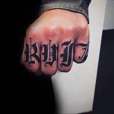50 last name tattoos for men honorable ink ideas