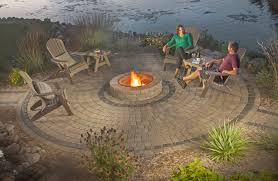 Patio And Firepit Firepits Gallery Willow Creek Paving Stones