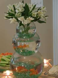 fish bowl centerpieces amusing baby shower fish bowl centerpieces 39 on easy baby shower