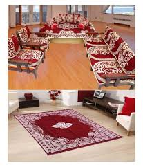 Snapdeal Home Decor Furnishing Kingdom Red Velvet Cushion Covers Sofa Covers And