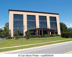 three story building 3 story office building with glass three story office stock
