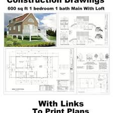 cabin blueprints small house plans sq two bedroom 1000 ft cabin ranch simple
