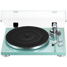 teac tn 300 2 speed analog turntable turquoise ebay