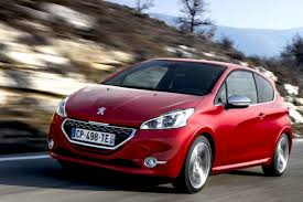 peugeot 208 red road test peugeot 208 london evening standard
