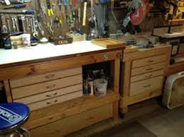 craftsman workbench with drawers and doors best house design