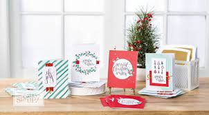 watercolor christmas kit makes 20 holiday cards in no time flat