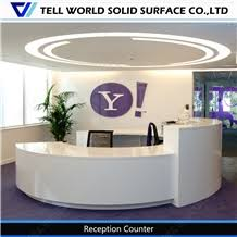Acrylic Reception Desk 2017 Acrylic Solid Surface Round Office Design Modern Reception