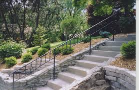 exterior step railing gallery