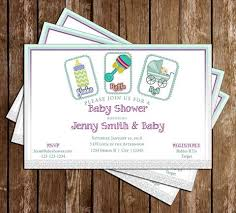 shake rattle and roll baby shower novel concept designs baby shower