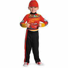 halloween store usa lightning mcqueen child halloween costume walmart com