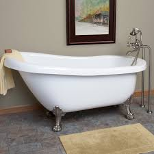 American Standard Cambridge Bathtub Hattie Acrylic Slipper Tub Lion Paw Feet Tubs Lions And Acrylics