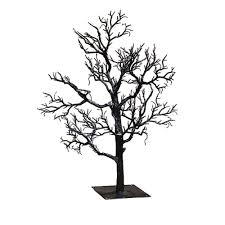 kurt adler twig tree 32 inch black home kitchen