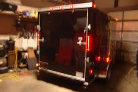 enclosed trailer led lights v nose trailer poughkeepsie ny cargo trailer nj