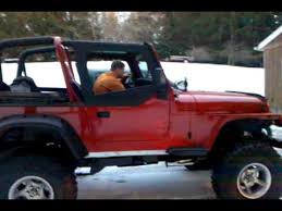 94 jeep wrangler for sale 95 jeep wrangler yj 350 v8 open headers for sale
