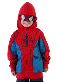 juvenile spider man costume hoodie halloween costumes