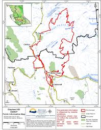 Wildfire Bc Map Interactive by Aug 14 Elephant Hill Fire Did Not Grow Today 100 Mile House