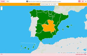 The Map Of Spain by Interactive Map What U0027s The Name Autonomous Communities Of Spain