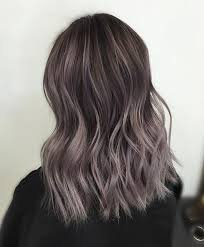 shag haircut brown hair with lavender grey streaks insta ftnessbec hair beauty that i love pinterest blonde