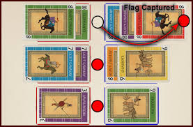 Rules Capture The Flag Battle Line Card Game Review U2013 The Boardgaming Life