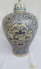 Antique Oriental Vases Early Ming Dynasty Vase Chinese Antiques Blue And White Porcelain