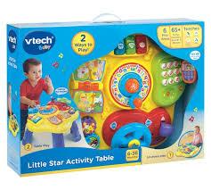 infant activity table toy vtech little star activity table best educational infant toys