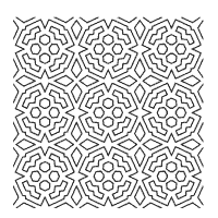 geometric coloring pages surfnetkids