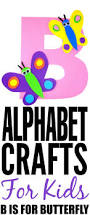 alphabet crafts for kids b is for butterfly frugal mom eh