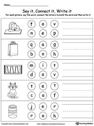 awesome collection of spelling 3 letter words worksheets for your