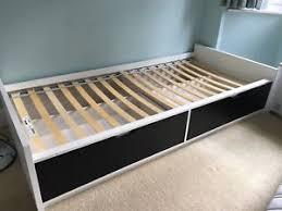 Ikea Single Bed Frame Ikea Flaxa Single Bed Frame With Storage Drawers Slats