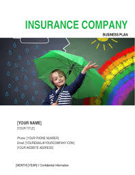 insurance company business plan template u0026 sample form biztree com