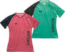 butterfly t shirt table tennis butterfly aino lady table tennis t shirt gpsports