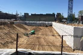 hole y butchertown main u0026 clay apartments dig down before
