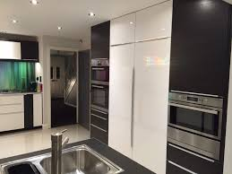 Ikea Kitchen White Gloss Ikea Ringhult High Gloss White And Tingsryd Black Kitchen With