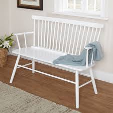 crafted from high quality and durable rubberwood the shelby bench