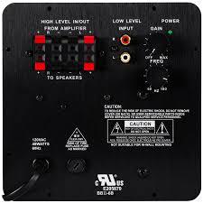 dayton audio sa25 25w subwoofer plate amplifier