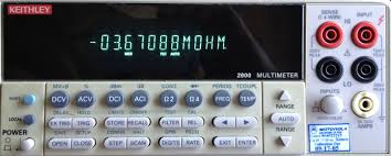 andy bardagjy keithley 2000 dmm repair