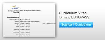 curriculum vitae europeo 2016 gratis curriculum vitae scaricare il file word del curriculum vitae europeo