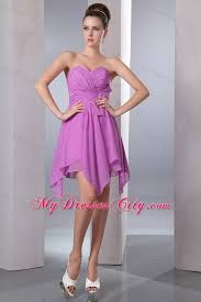 quince dama dresses lavender sweetheart handkerchief hem dama dresses for quinceanera
