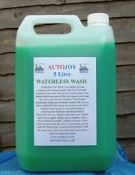 autojoy waterless wash 5 litre car cleaning products valeting