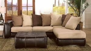 Microfiber Reversible Chaise Sectional Sofa Microfiber Chaise Sofa Centerfieldbar Com