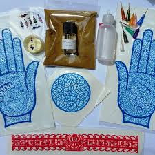 black henna palm tattoo kit gypsy kallista online store