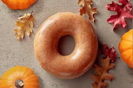 krispy kreme pumpkin spice doughnuts back for 1 day simplemost