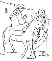mary joseph coloring pages coloring
