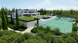 Spanish Homes Plans by Luxurious 9 Bedroom Spanish Home With Indoor U0026 Outdoor Pools
